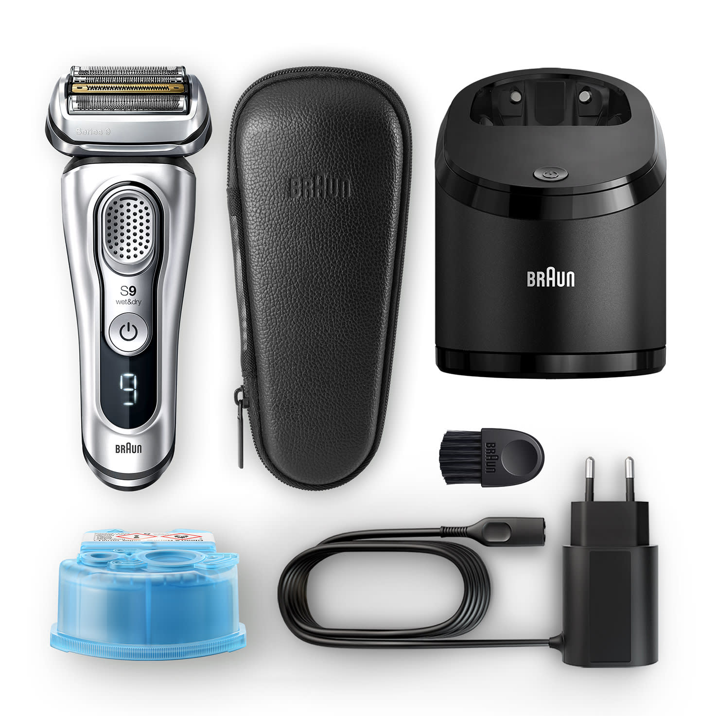 Series 9 9390cc shaver - What´s in the box