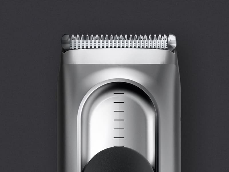 Clean up your neckline at home using a hair trimmer for men