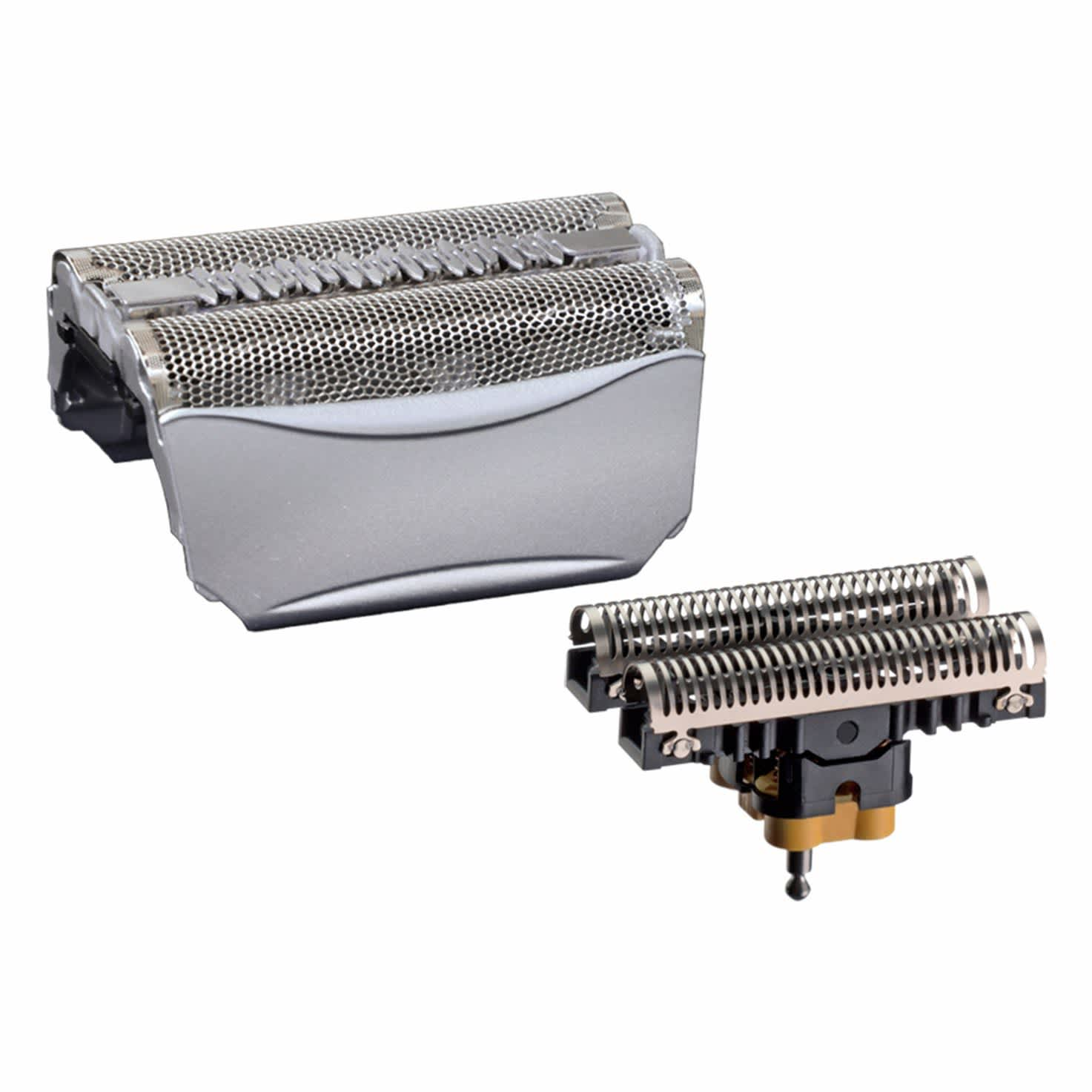 Braun Combi 51S Foil and Cutter replacement pack silver. For Series 5 (older generation), ContourPro, 360º, Complete, Activator, 8000 Series.