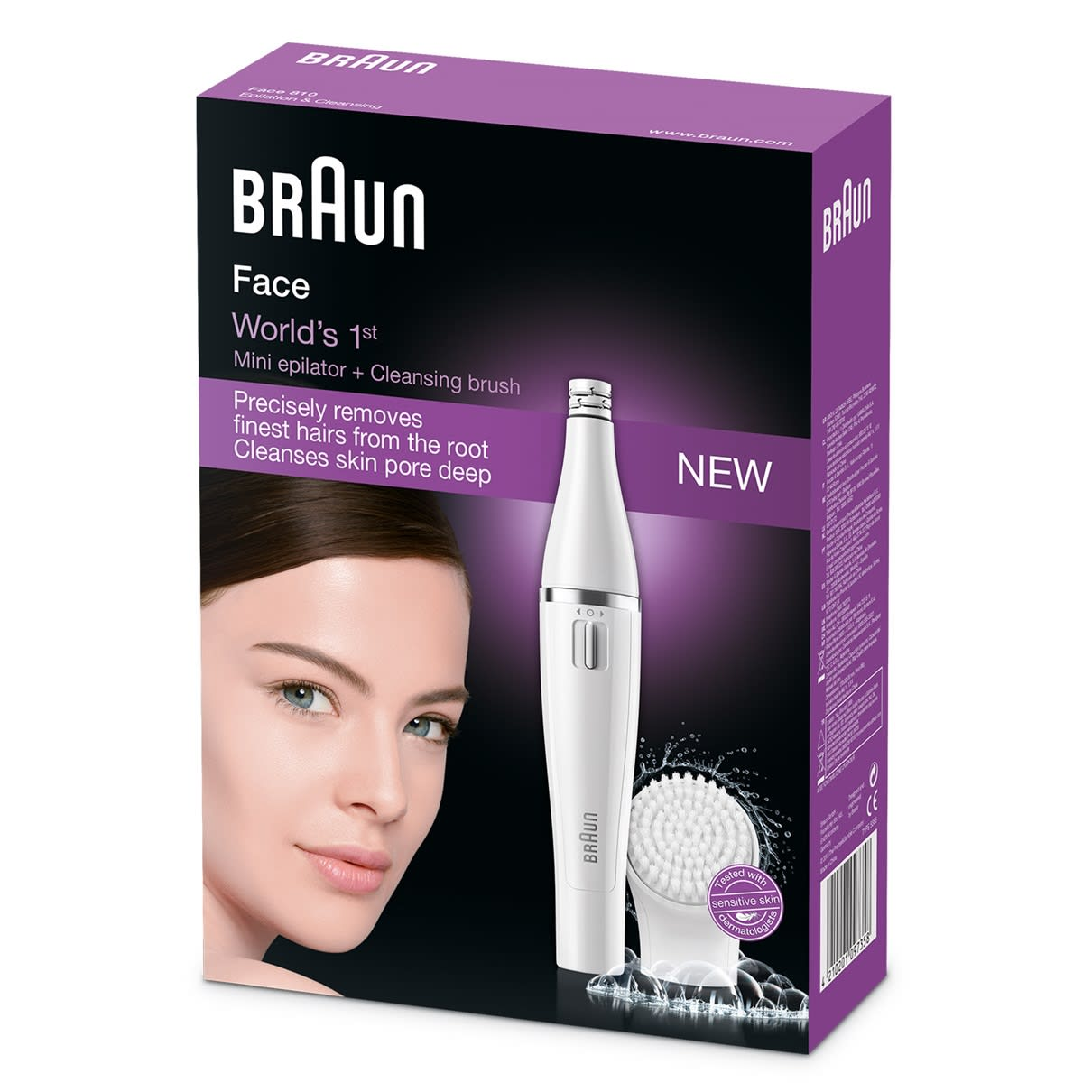 Braun Face Epilator 810 Facial Cleansing Brush Braun Uk