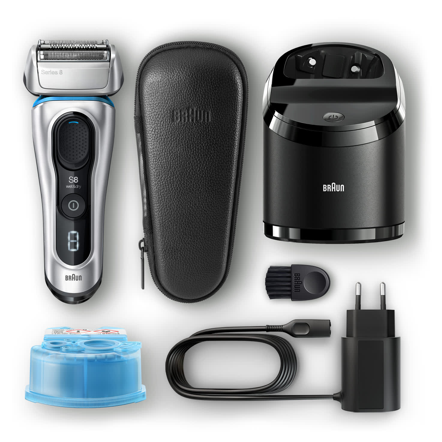 Series 8 8391cc shaver - What´s in the box