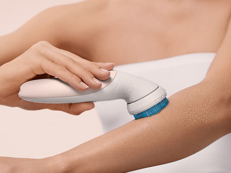 How To Exfoliate Your Body Step By Step Guide Braun Uk