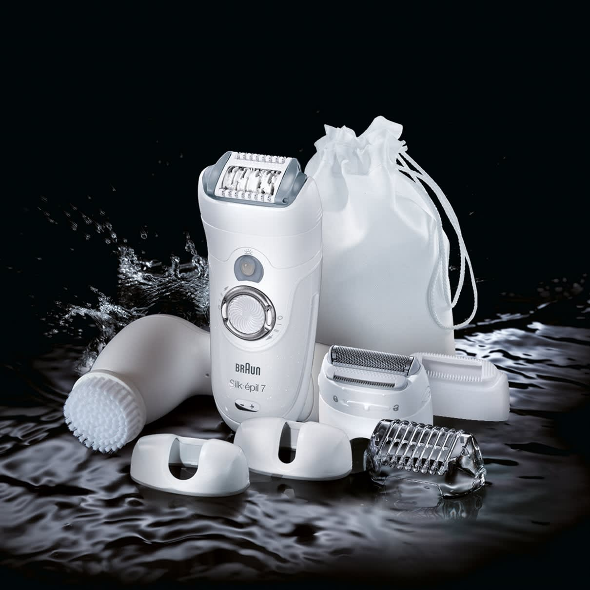 Silk-épil 7 7569 Epilator - What´s in the Box