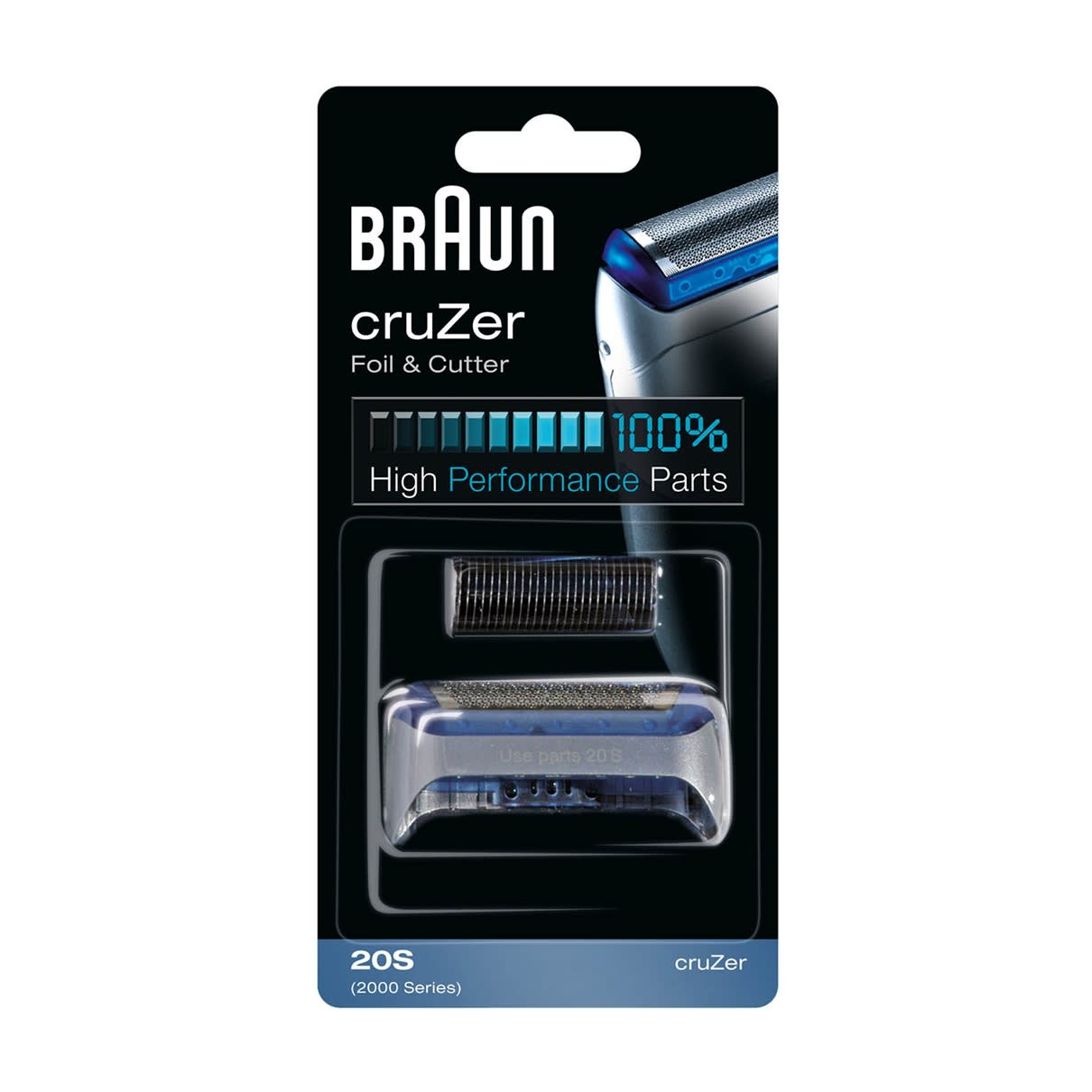 cruZer Foil & Cutter 20S replacement pack silver - packaging