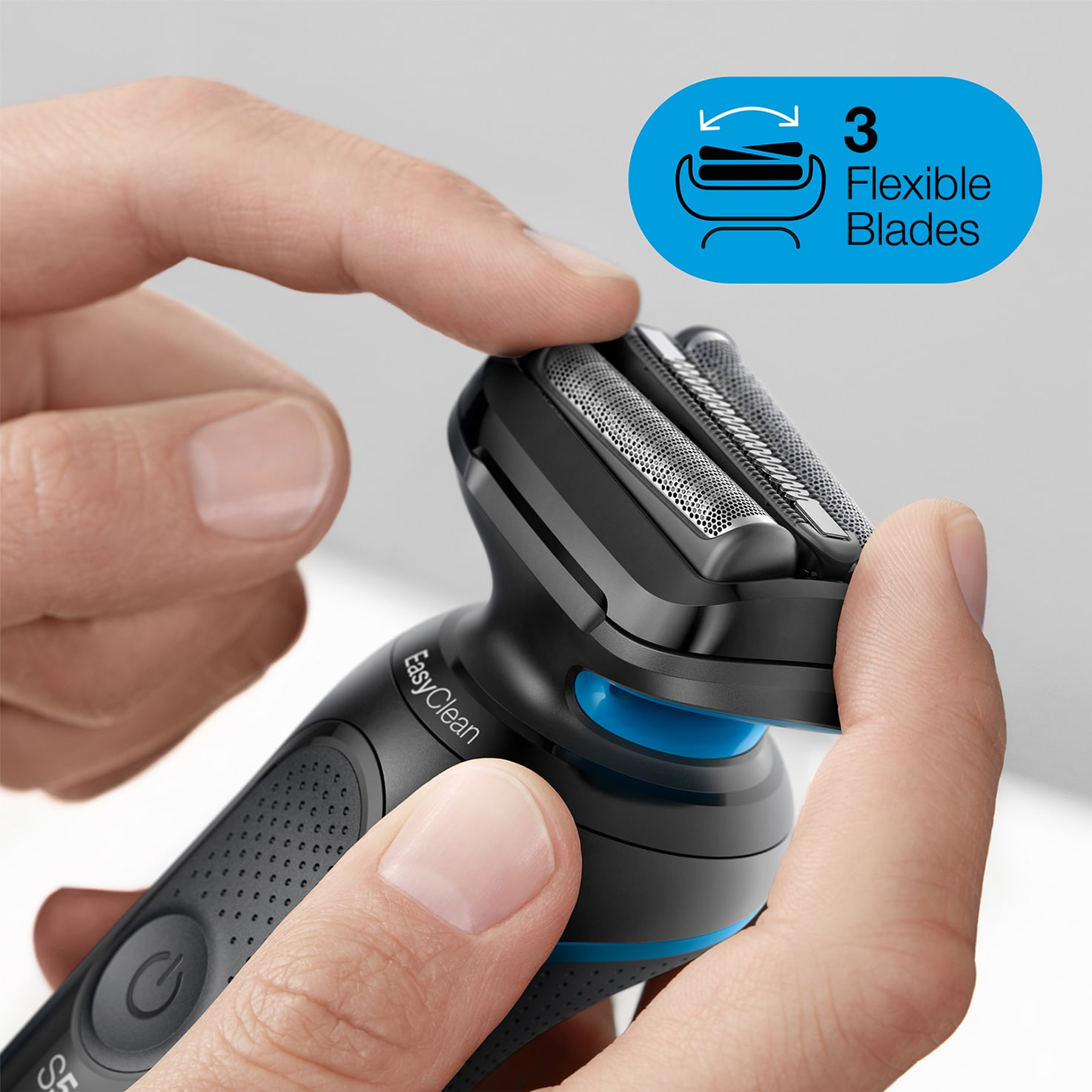 Braun Series 5 Electric Shaver flexible blades