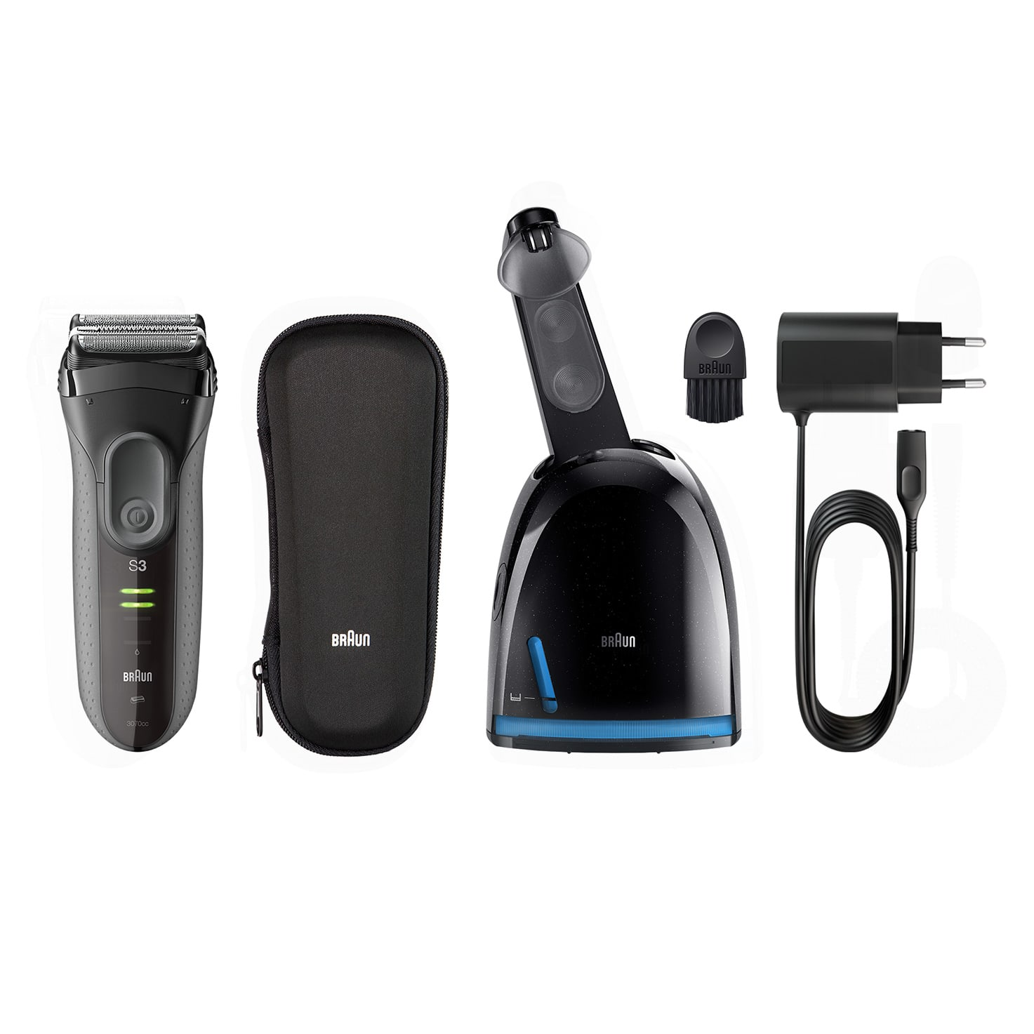 Series 3 ProSkin 3070cc shaver - What´s in the box