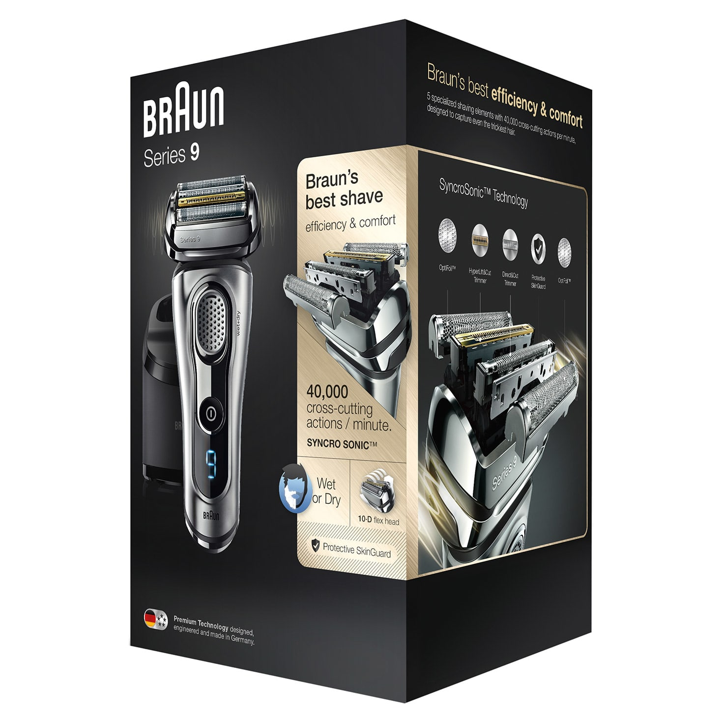 Series 9 9290cc Wet & Dry shaver image 5
