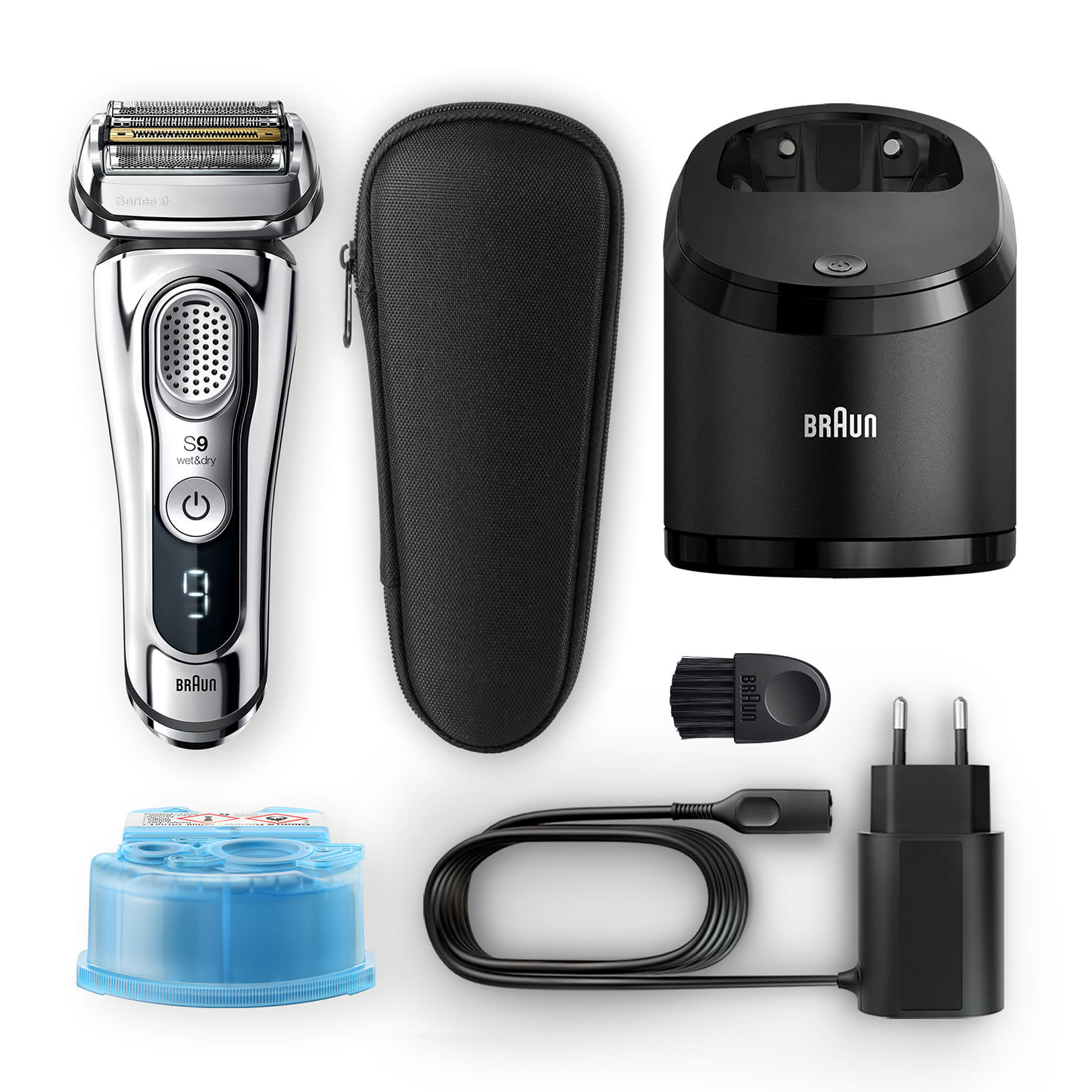 Series 9 9376cc shaver - What´s in the box