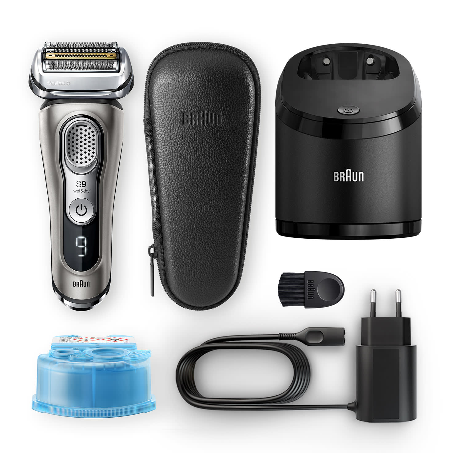 Series 9 9385cc shaver - What´s in the box