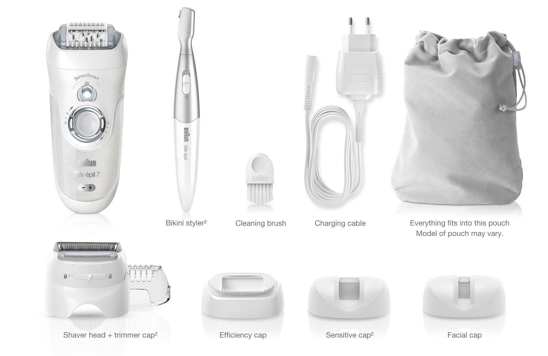 Silk Epil 7 Wet Dry Epilator For Hair Removal Braun Us