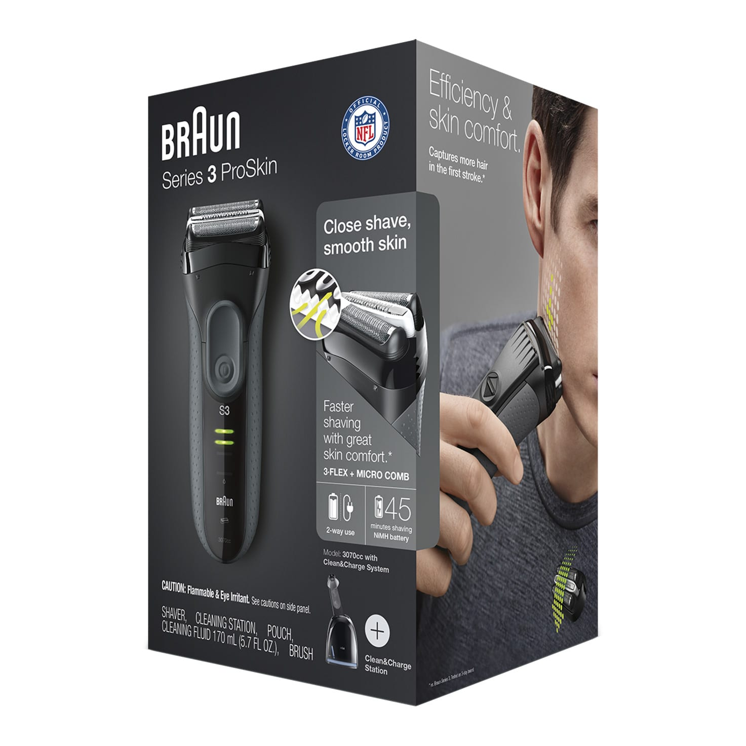 Series 3 ProSkin 3070cc shaver packaging