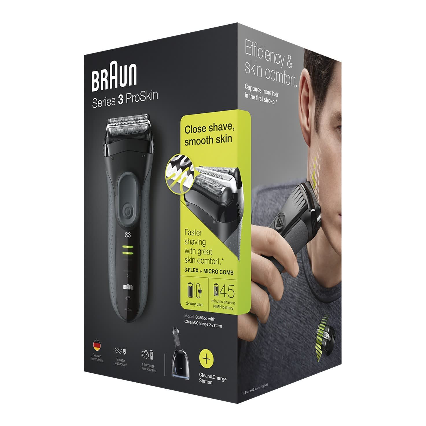 Series 3 ProSkin 3050cc grey - packaging