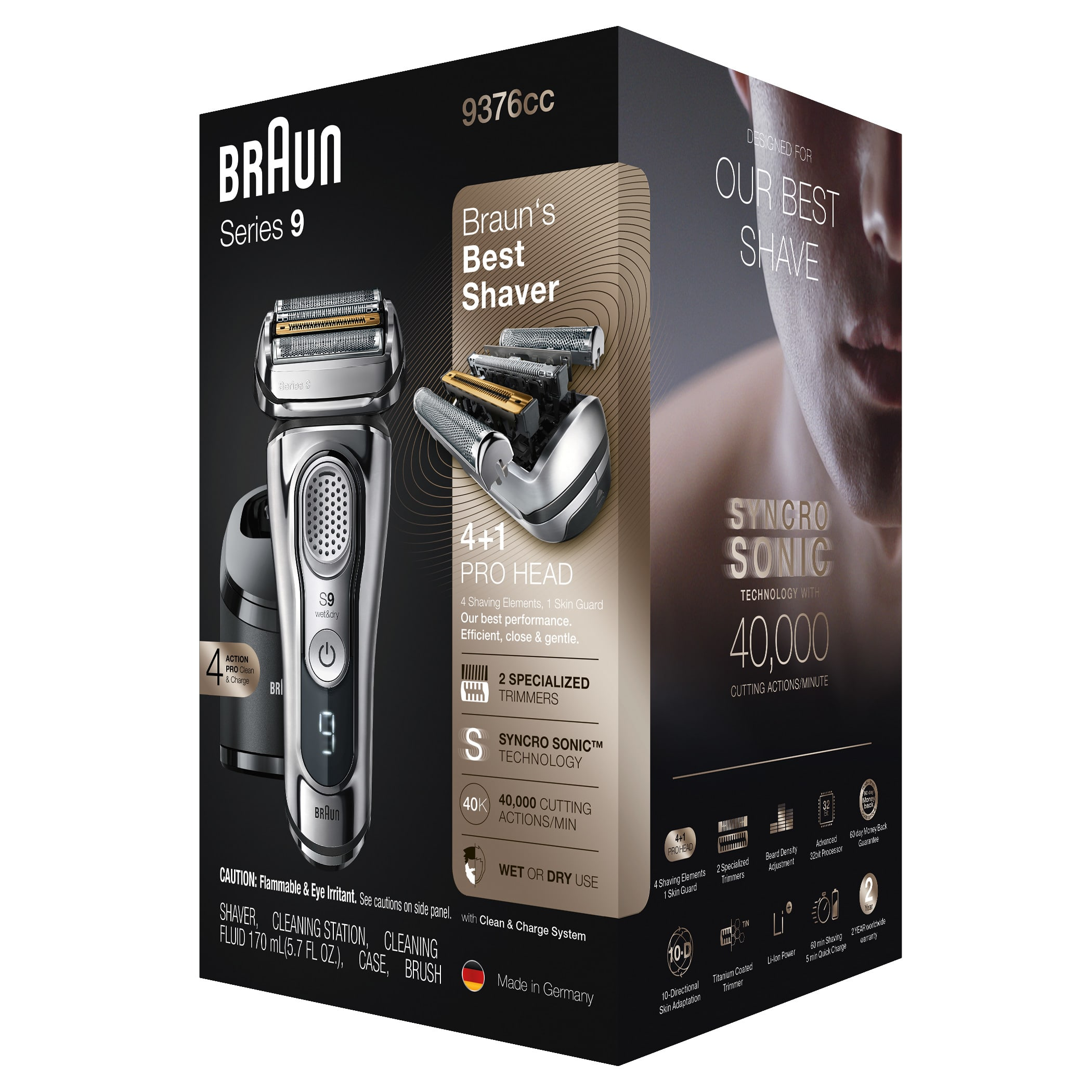 Series 9 9376cc shaver - Packaging