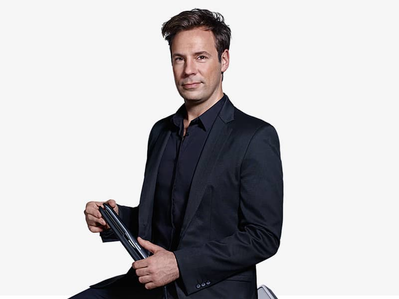 Sascha Breuer, Celebrity stylist and Braun ambassador