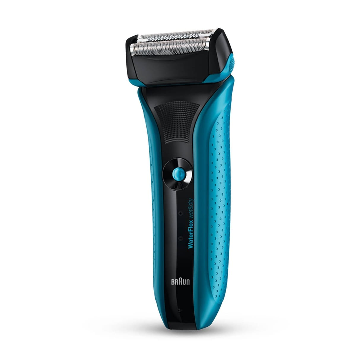 Braun WaterFlex WF2s blue Wet & Dry shaver with swivel head