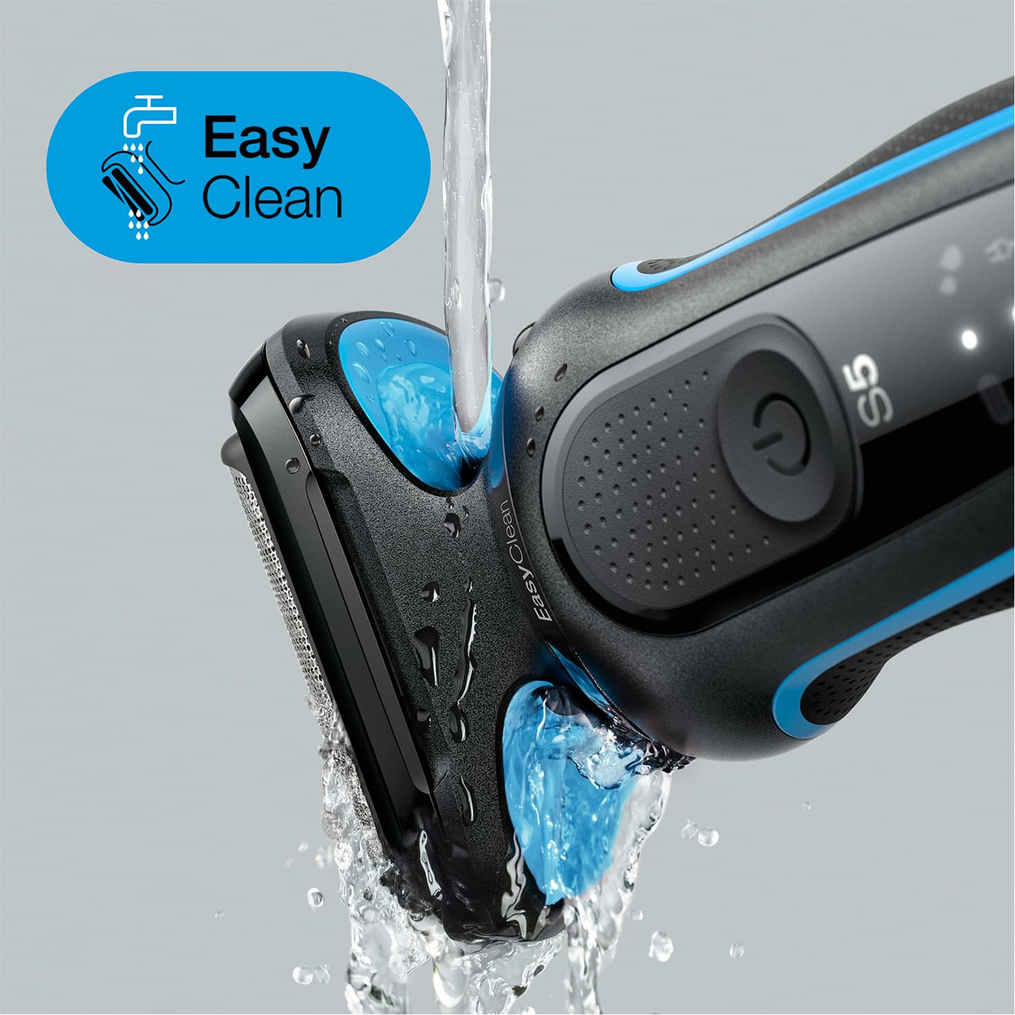 Braun Series 5 50-Electric Shaver Easy Clean