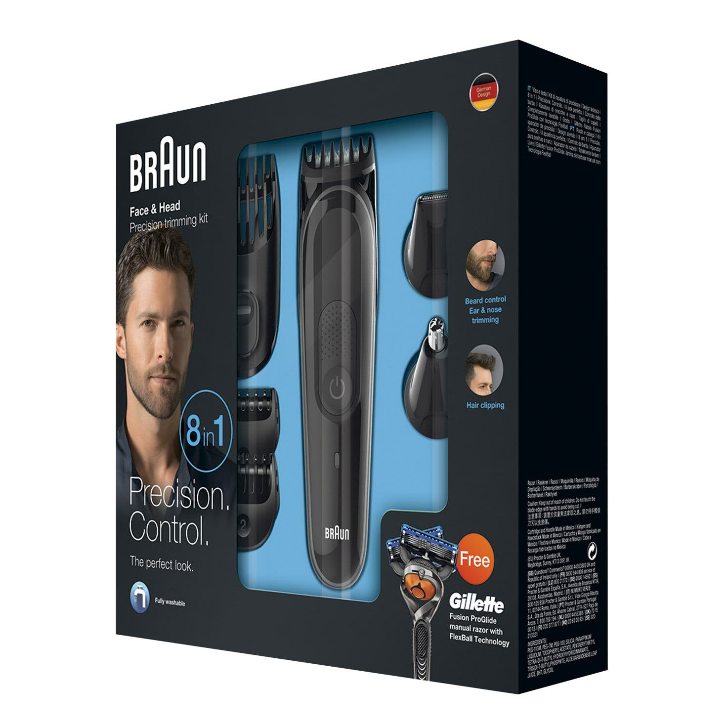 Braun multi grooming kit MGK3060 packaging