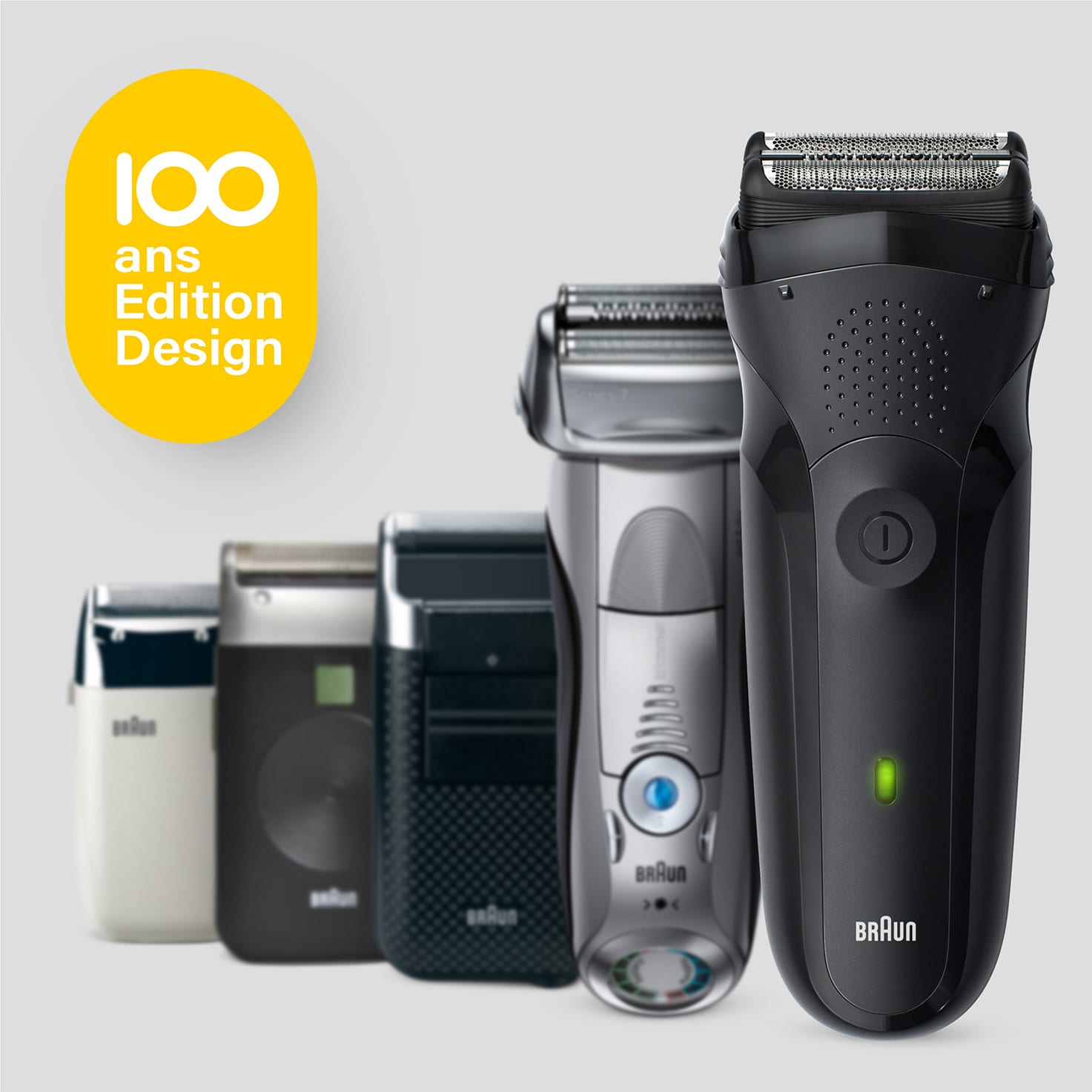 Series 3 Shave&Style shaver, Design Edition