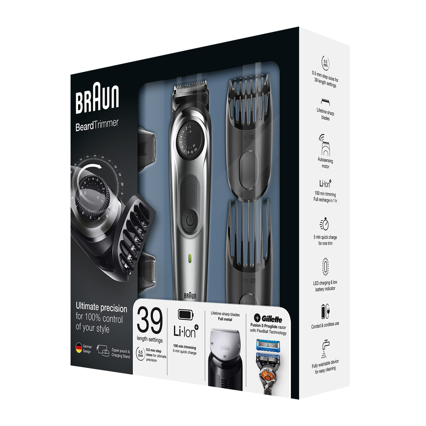 Braun Beard Trimmer BT7040