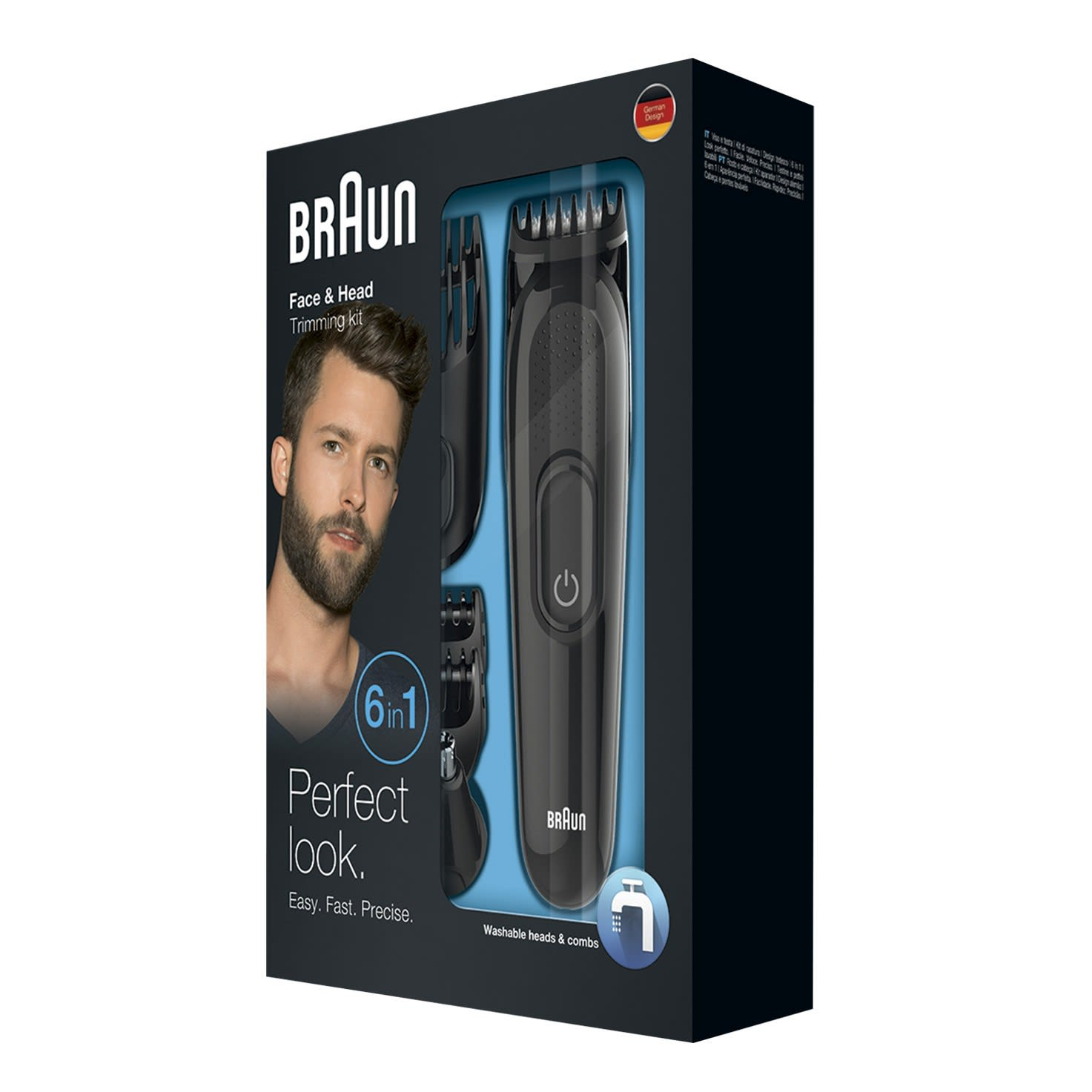 Braun multi grooming kit MGK3020 packaging