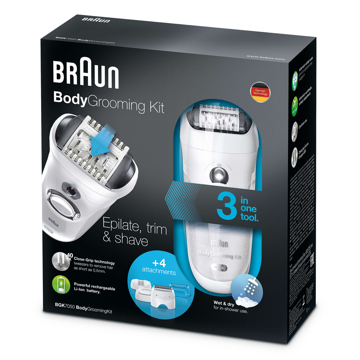 Braun Body-grooming kit BGK5050
