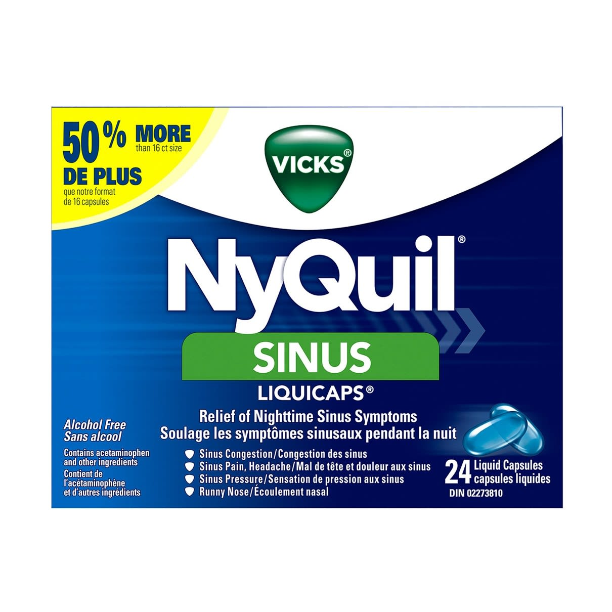 NyQuil Sinus Liquicaps