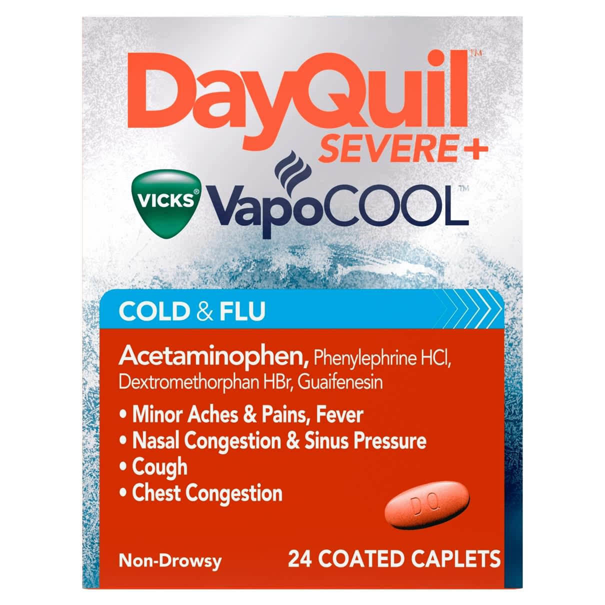 DayQuil Severe+ VapoCool 24Ct
