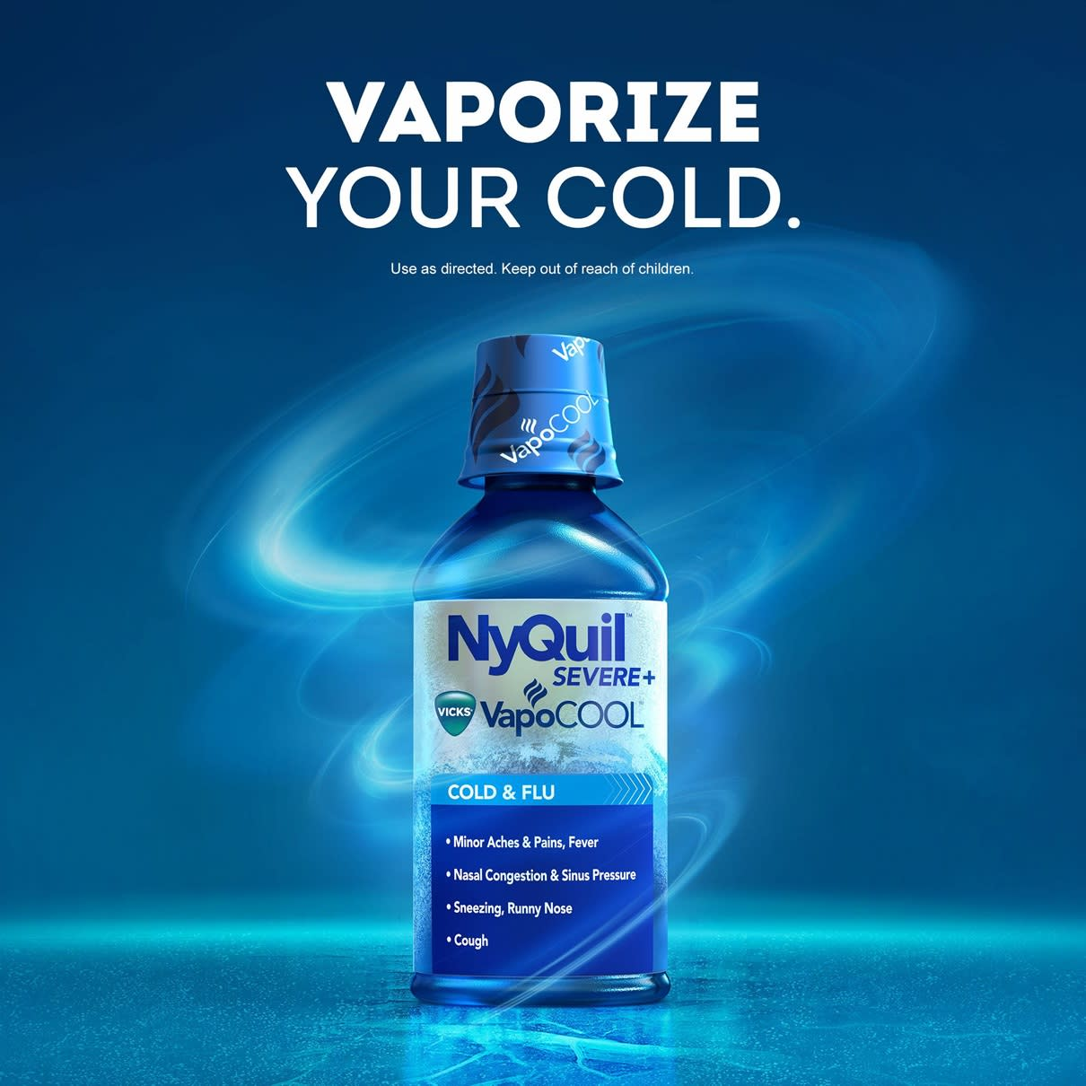 NyQuil Severe+ VapoCool Main Image