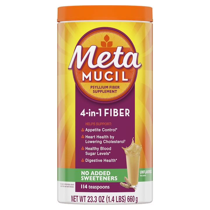 Metamucil Sugar Free Original Smooth Powder