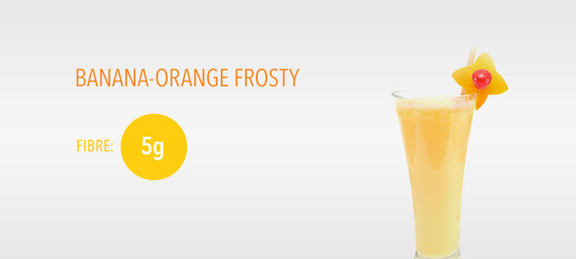 BANANA-ORANGE FROSTY