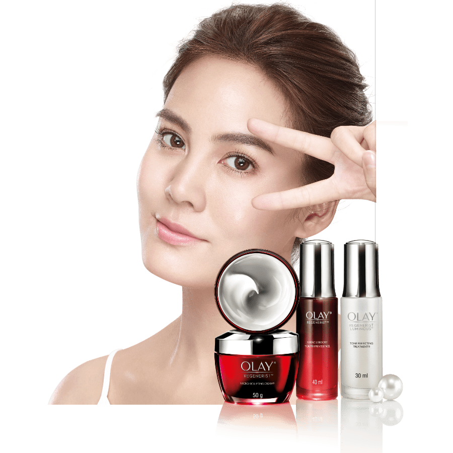 Olay regenerist anti ageing cream collection