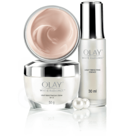 Olay white radiance collection