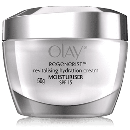 Olay regenerist revitalising hydration day cream for sun protection