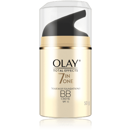 Olay total effects 7-in-1 anti-ageing foundation with BB creme spf15