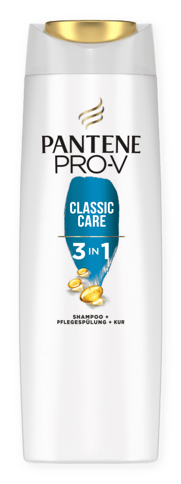 Classic Care 3in1 Shampoo + Pflegespülung + Kur