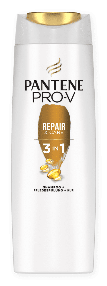 Repair & Care 3in1 Shampoo + Pflegespülung + Kur
