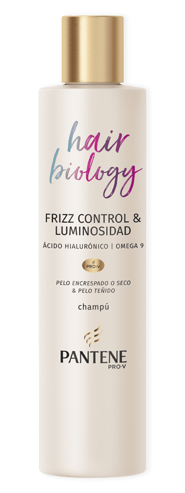Champú Frizz control y Luminosidad Hair Biology