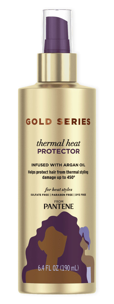Gold Series Thermal Heat Protector Spray from Pantene