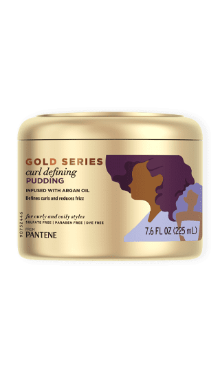 Gold Series Curl Cream Defining Pudding from Pantene