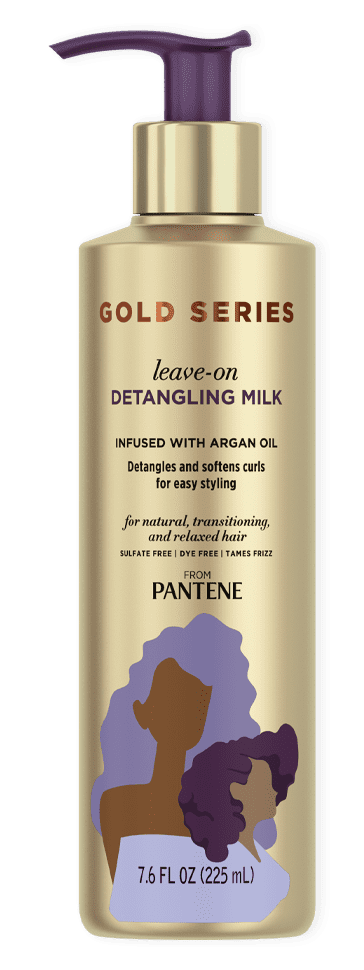 Gold Series Leave-on Detangling Milk from Pantene