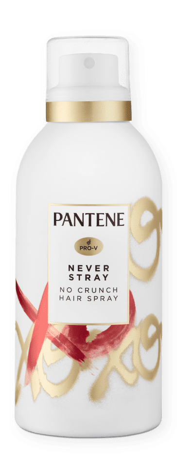 Pantene Never Stray No Crunch Hair Spray