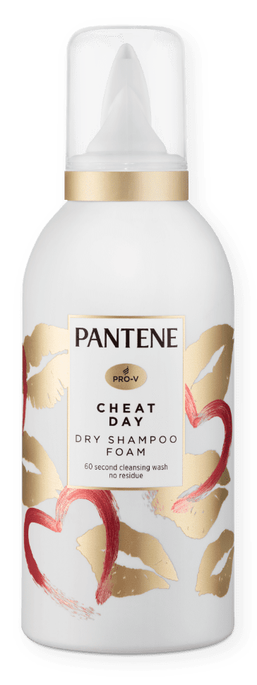 Pantene Cheat Day Dry Shampoo Foam