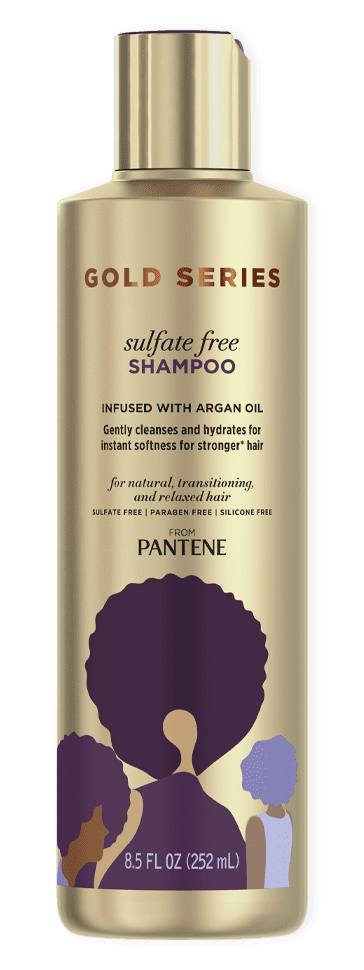 Gold Series Sulfate Free Shampoo from Pantene