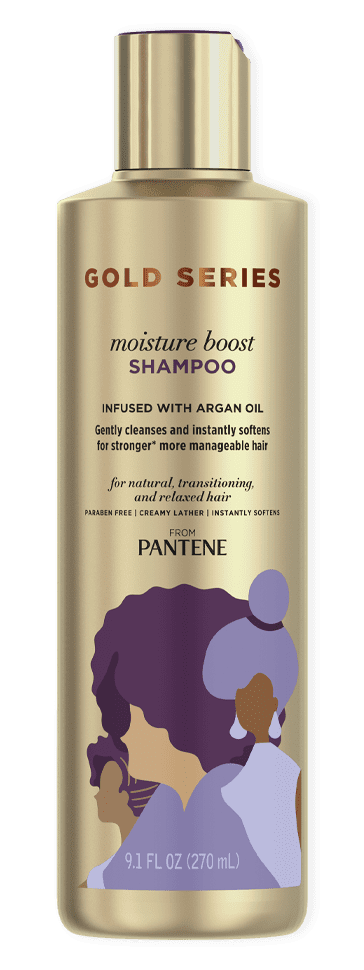 Gold Series Moisture Boost Shampoo from Pantene