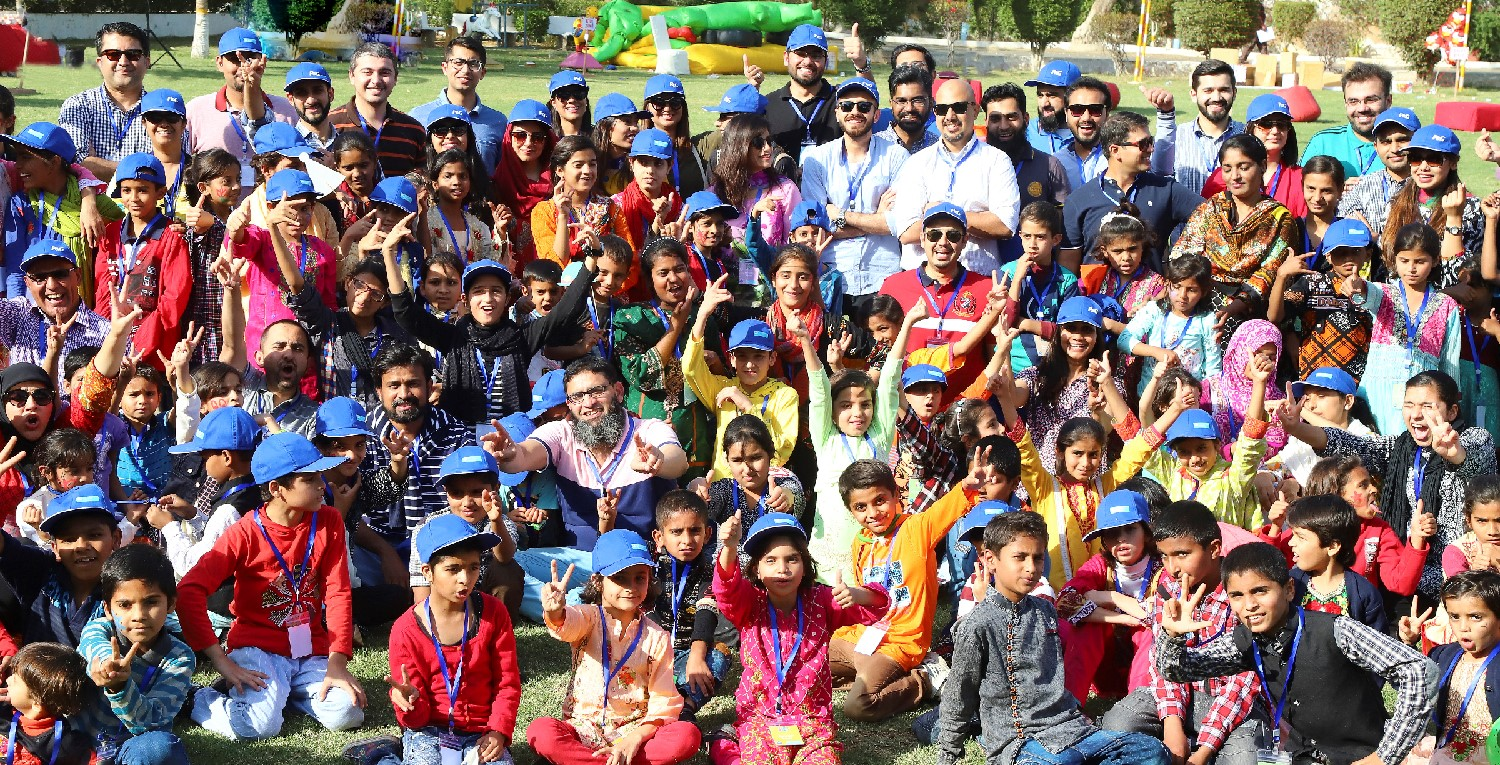 P&G employees dedicate quality time at SOS Children's Village