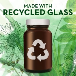 Align Probiotics Packaging made with Recycled Glass