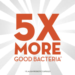 Probiotic with 5X More Good Bacteria