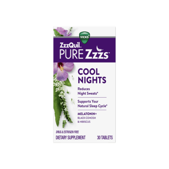 ZzzQuil PURE Zzzs Cool Nights Tablets   ZzzQuil