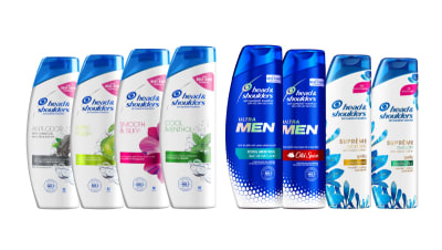 Head and shoulders shampoo products