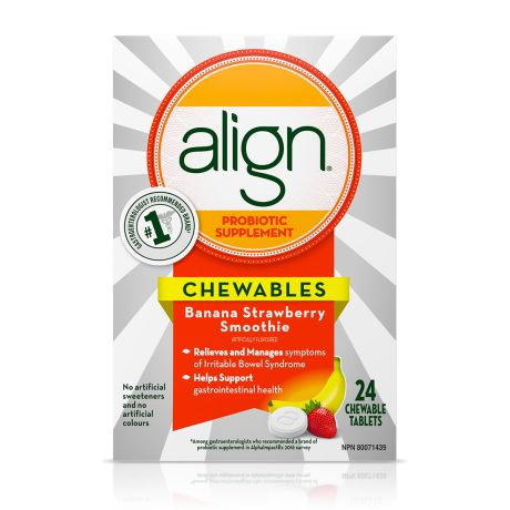 Align Probiotic Supplement Chewables for Adults